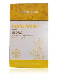 Henné Blond 90 g - Henné Natur - Hennedrog Hennedrog henné naturel fabrication française