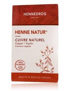 Henné cuivré coloration végétale cheveux 90 g - Henné Natur - Hennedrog Hennedrog henné naturel fabrication française
