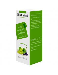 Huile Végétale de Pépins de Raisin Bio extra vierge 10 ml BioOrient Huiles Capillaires