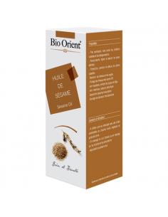 Huile Végétale de Sésame Bio extra vierge 90 ml BioOrient Huiles Capillaires
