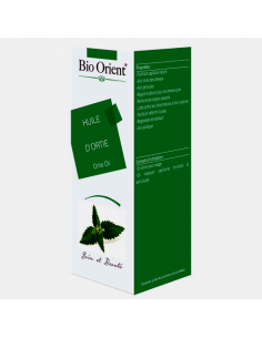 Huile Végétale d'Ortie Bio extra vierge 10 ml BioOrient Huiles Végétales et Sérums