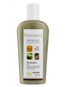 Dermaclay Shampoing bio Antipelliculaire 250 ml Dermaclay shampooing bio Shampooings