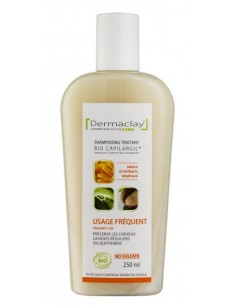 Dermaclay Shampoing bio usage fréquent 250 ml Dermaclay shampooing bio Shampooings