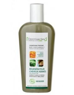 Dermaclay Shampoing bio Régénérateur Cheveux Abimés 250 ml Dermaclay shampooing bio Shampooings