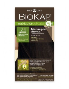 Nutricolor Delicato rapid Chatain foncé chocolat 2.90 - Biokap BioKap coloration , spray retouches et shampoings Colorations ...
