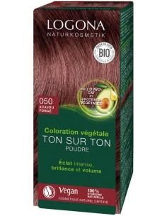 Logona acajou n°50 poudre coloration cheveux bio Logona Colorations Cheveux Naturelle