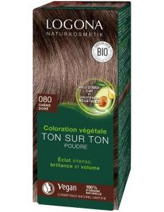 Logona chêne doré n°80 coloration végétale bio Logona Colorations Cheveux Naturelle