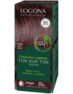 Logona café glacé N°92 coloration végétale bio Logona Colorations Cheveux Naturelle