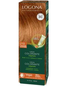 Logona crème colorante végétale couleur d'Automne N°210 Logona Colorations Cheveux Naturelle
