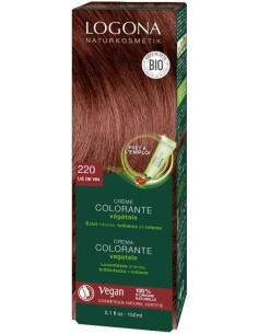 Logona crème colorante végétale Lie de vin N°220 Logona Colorations Cheveux Naturelle