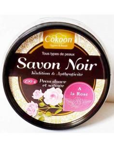 Savon noir à la rose 250 g - Cokoon Cokoon argiles pour soins cosmétiques naturels Visage et Corps