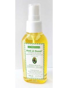 Huile de beauté à l'huile de ricin cheveux cils ongles Dollania 100 ml  Huiles Végétales et Sérums