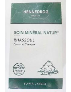 Ghassoul Soin minéral naturel Cheveux et Corps 150 g - Hennedrog Hennedrog henné naturel fabrication française Visage et Corps