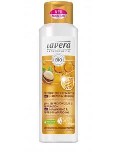 Shampoing réparateur 2 en 1 soin profond cheveux très secs Lavera 250 ml Lavera Shampoings Lavera