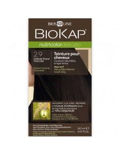 Biokap coloration bio châtain foncé 2.90 Nutricolor Delicato BioKap coloration bio , spray retouches et shampoings
