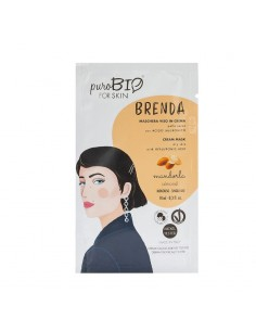 Masque hydratant visage peau sèche régénérant Amande PuroBio Puro bio Cosmétiques