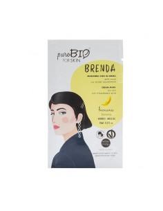 Masque hydratant visage peau sèche régénérant Banane PuroBio BioKap coloration , spray retouches et shampoings Visage et Corps