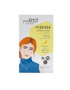 Masque hydratant visage peau grasse matifiant Banane PuroBio Puro bio Cosmétiques Visage et Corps