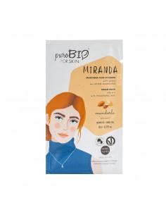 Masque hydratant visage peau grasse matifiant Amande PuroBio Puro bio Cosmétiques