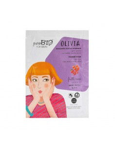 Masque peau grasse peel-off hydratant normalisant fruits rouges PuroBio Puro bio Cosmétiques