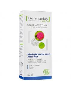 Crème régénération anti-âge 50 ml Dermaclay Dermaclay shampooing bio Visage et Corps