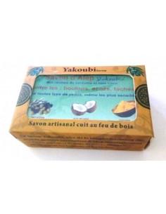 Savon artisanal au curcuma et noix de coco 100 g