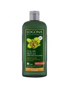 Shampoing Logona noisette bio color reflex cheveux bruns 250 ml Logona Shampoings Logona