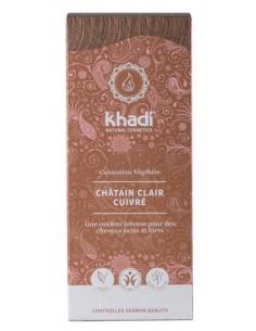 Khadi coloration végétale bio chatain clair cuivré Khadi Coloration Khadi