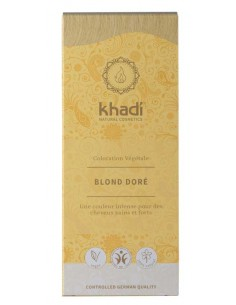 Khadi coloration blond doré plantes ayurvédiques bio 100 g Khadi Coloration Khadi