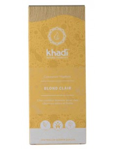 Khadi coloration végétale bio blond clair Khadi Coloration Khadi