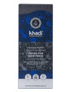 Khadi Indigo pur coloration végétale 100 g Khadi Coloration Khadi