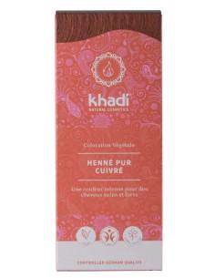 Coloration végétale bio Khadi pur cuivré rouge Khadi Coloration Khadi