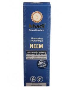 Shampoing ayurvédique Neem pellicules & démangeaisons Khadi 210 ml Khadi Shampoings Khadi