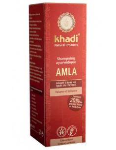Shampoing ayurvédique Amla volume & brillance Khadi 210 ml Khadi Shampoings Khadi
