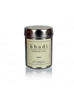 Coloration Végétale henné Noir 150 g - Khadi Khadi Colorations Cheveux Naturelle