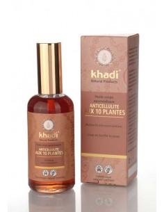Khadi huile Anti cellulite aux 10 herbes 100 ml Khadi