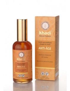Khadi Huile Anti-Age Visage et Corps tous types de peaux 100 ml Khadi