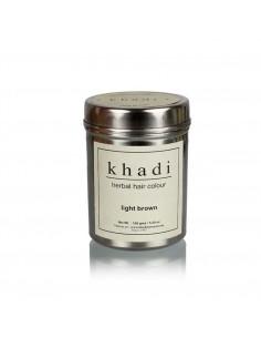Coloration Végétale henné Marron Clair - 150 g - Khadi Khadi Colorations Cheveux Naturelle