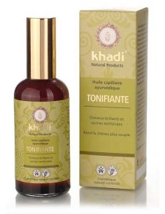 Khadi huile de soin capillaire ayurvédique tonifiante amla 100 ml Khadi