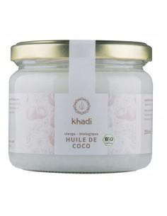 Khadi huile bio coco pure du Kerala 250 g Khadi Huiles Végétales et Sérums