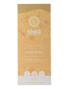 Khadi blond soleil coloration bio plantes ayurvédiques 100g Khadi Coloration Khadi