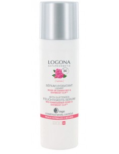Logona serum Bio lissant rose de Damas et Kalpariane 30 ml Logona Visage et Corps
