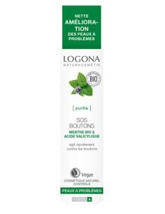 Logona SOS boutons menthe et Acide salicylique 6 ml Logona