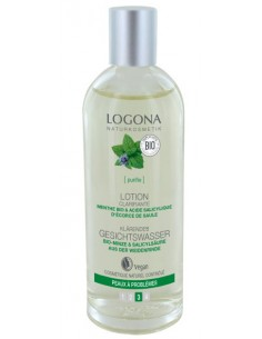 Logona lotion clarifiante menthe et acide salicylique 125 ml Logona