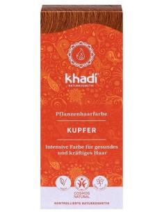 Khadi coloration végétale bio henné cuivré 100 g Khadi