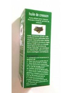 Huile Végétale de Cresson bio extra vierge 35 ml  Huiles Végétales et Sérums