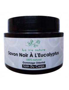 SAVON NOIR NATUREL A L'HUILE D'EUCALYPTUS - La Vie Nature 150 g La Vie Nature