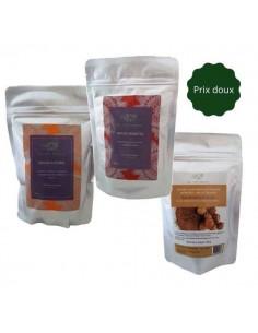 Pack soin + coloration végétale noisette couvrance cheveux blancs La Vie Nature La Vie Nature