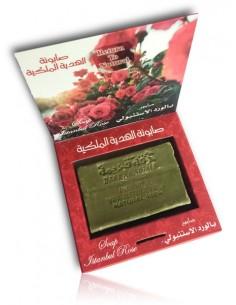 Savon d'Alep premium à l'huile de rose 150 g