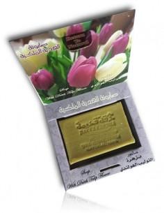 Savon d'Alep premium aux huiles de tulipe, rose et jasmin 150 g